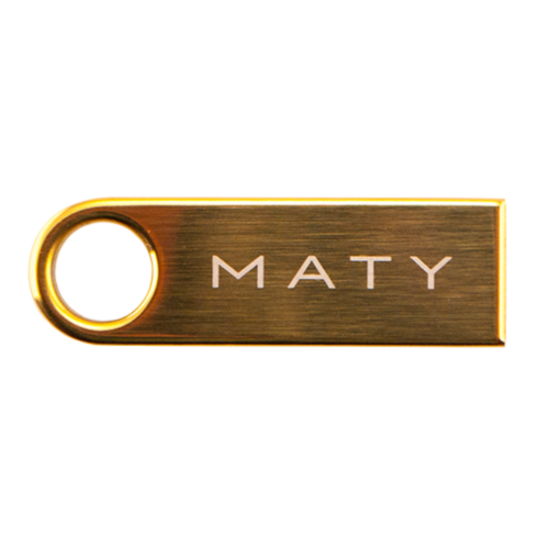 Mini stick goud-1
